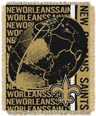 Northwest NFL New Orleans Saints Jacquard Throws