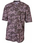A4 Camo 2-Button Henley Baseball Jerseys