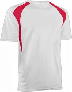 WHITE/SCARLET RED