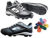 A4 MVP Molded Rubber Baseball Cleats