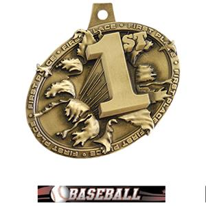 GOLD MEDAL/ULTIMATE BASEBALL NECK RIBBON