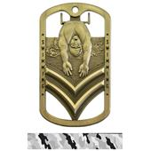 Hasty Awards Dogtag Swimming Medal M-785W