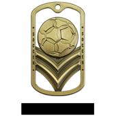 Hasty Awards Dogtag Soccer Medal M-785S