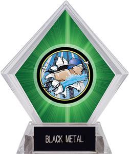 BUST-OUT SWIM MYLAR/BLACK METAL