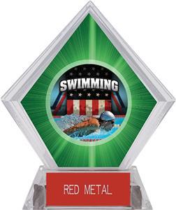 PATRIOT SWIM MYLAR/RED METAL