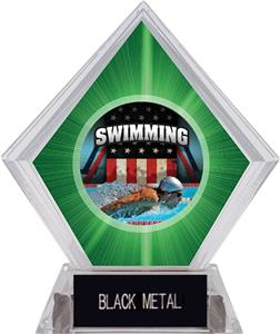 PATRIOT SWIM MYLAR/BLACK METAL