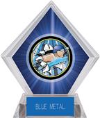 Hasty Awards Blue Diamond Swimming Ice Trophy