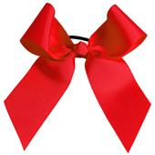Pizzazz Solid Color Ribbon With Ponytail Holder