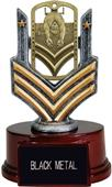 """Hasty Awards 6"""" Swimming Dog Tag Trophy"""