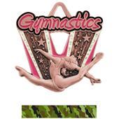 Hasty Awards Spotlight Gymnastics Medal M-733GF