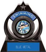 """Hasty Awards Eclipse 6"""" Bust-Out Swimming Trophy"""