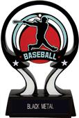 "Hasty Awards 6"" Glow in the Dark Baseball Trophy"