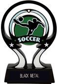 "Hasty Awards 6"" Glow in the Dark Soccer Trophy"