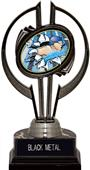 """Black Hurricane 7"""" Bust-Out Swimming Trophy"""