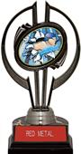 "Black Hurricane 7"" Bust-Out Swimming Trophy"