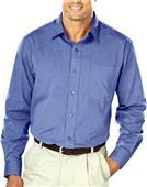 Blue Generation Men's Heathered Crossweave Shirts
