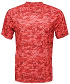 Baw Men's Xtreme-Tek Digital Camo T-Shirt