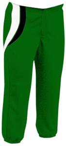 DK.GREEN W/BLACK&WHITE INSERTS