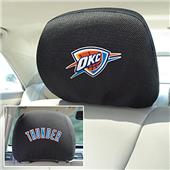 Fan Mats NBA OKC Thunder Head Rest Covers
