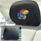 Fan Mats University of Kansas Head Rest Covers
