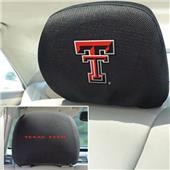 Fan Mats Texas Tech University Head Rest Covers