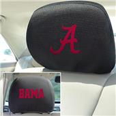 Fan Mats University of Alabama Head Rest Covers