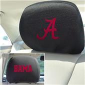 Fan Mats University of Alabama Head Rest Covers