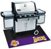 Fan Mats NBA Los Angeles Lakers Grill Mat