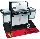 Fan Mats NHL Chicago Blackhawks Grill Mat