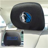 Fan Mats NBA Dallas Mavericks Head Rest Covers