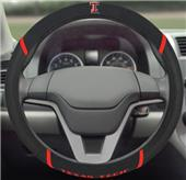 Fan Mats Texas Tech Univ. Steering Wheel Cover