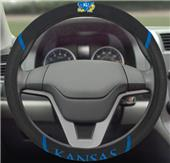 Fan Mats University of Kansas Steering Wheel Cover