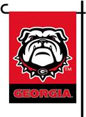 "COLLEGIATE Georgia 2-Sided 13"" x 18"" Garden Flags"