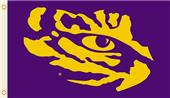 COLLEGIATE LSU Tigers Eye 3' x 5' Flags