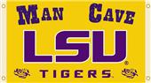 COLLEGIATE LSU Tigers Man Cave 3' x 5' Flags