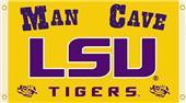 COLLEGIATE LSU Tigers Man Cave 3' x 5' Flags