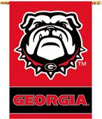 "COLLEGIATE Georgia 2-Sided 28"" x 40"" Banners"
