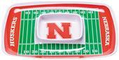 COLLEGIATE Nebraska Chips & Dip Tray (Set of 6)
