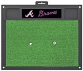 Fan Mats MLB Atlanta Braves Golf Hitting Mat