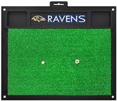 Fan Mats NFL Baltimore Ravens Golf Hitting Mat