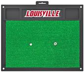 Fan Mats NCAA Univ. of Louisville Golf Hitting Mat