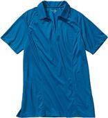 Edwards Women's Micro Pique Polo with Self Collar