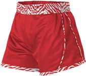 Alleson Womens Girls Reversible Cheer Short CO