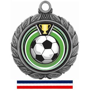 SILVER MEDAL/(RWB) RED WHITE & BLUE RIBBON