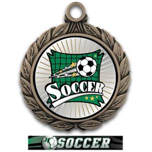 BRONZE MEDAL/ULTIMATE SOCCER RIBBON