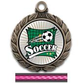 "Hasty Awards 2.75"" Xtreme Soccer Insert Medals"
