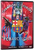 SLS FC Barcelona 2006 UEFA Champions League DVD