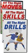 SLS Right Moves, Skills, Drills Soccer DVDs (Set)