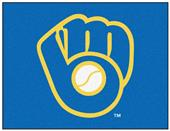 "Fan Mats Milwaukee Brewers All-Star Rug 34""x45"""