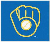 Fan Mats Milwaukee Brewers Tailgater Mat 5'x6'